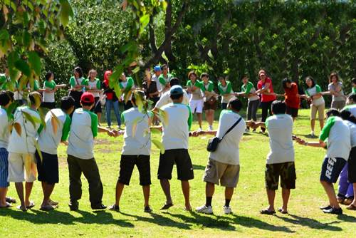 Bali Students Team Building Activities Toya Devasya Camp